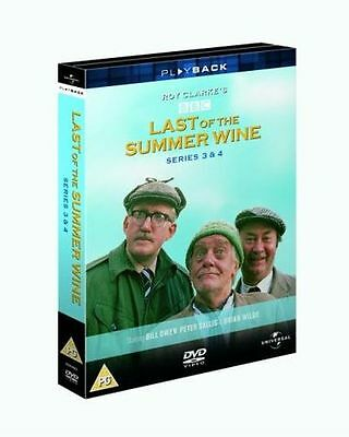 NEW - Last of the Summer Wine - Series 3 & 4 [DVD] [1976] [1973] 5050582266917