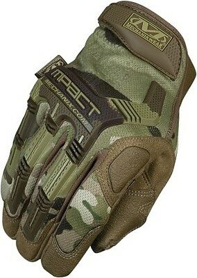 Mechanix Wear Multicam M-Pact 2016 MX/Offroad Gloves Multicam/Camo/Green