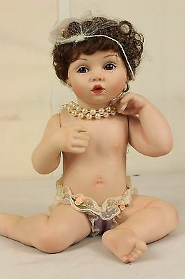 Vintage Doll ASHTON DRAKE PRETTY AS A PICTURE w/box COA ##Bux206OM