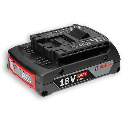 Bosch 18V 2.0Ah Cool Pack Lithium Ion Battery Brand New Genuine
