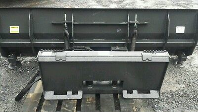 "NEW Extreme HD 72"" 6' SNOWPLOW SKID STEER LOADER,bobcat case cat..Snow plow  6ft"