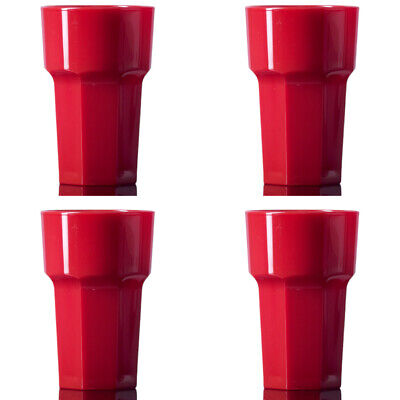Elite Reusable Red HiBall Remedy Half-pint Pack of 4