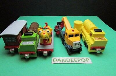 Thomas The Tank Engine Take Along Diecast 8 piece with Chinese Dragon, Butch ++