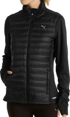 Puma PowerWarm Padded Ladies Running Jacket - Black