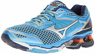 MIZUNO WAVE CREATION 18 womens running shoes Size 8 NEW TURQUOISE ORANGE SILVER