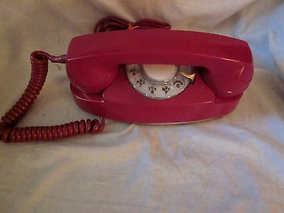 """Western Electric RED Model 701 """"Princess"""" Telephone"""