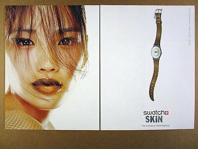 2000 Swatch Skin SNAKY Watch photo vintage print Ad
