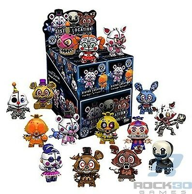 Case Lot - 12 FNAF Series 2 Sister Location Funko Blind Box Minis Five Nights