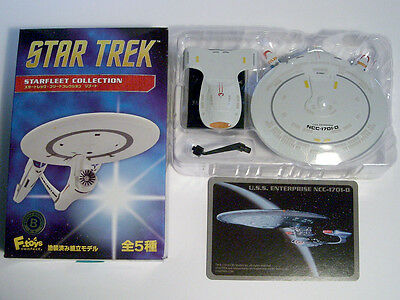 Star Trek Starfleet Collection #04 U.S.S. ENTERPRISE NCC-1701-D , F-toys +