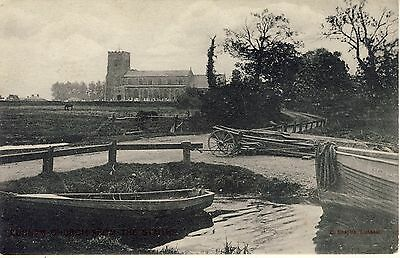 Ludham Church From The Staith By Chaplin Of Ludham Norfolk