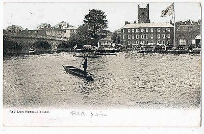 Oxfordshire - Cpc - The Red Lion Hotel, Henley-On-Thames, 1904