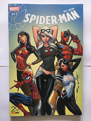 Panini Comics Marvel All New Spider Man 011 11 Collector Scott Campbell 500 Ex
