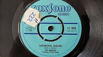 "The Hamlins-Sentimental Reasons.vinyl 7""45Rpm.coxsone"