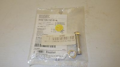 Baumer Ifrm 12N1701/s14L Inductive Proximity Sensor Switch 10-30V 4Mm Npn No Nib