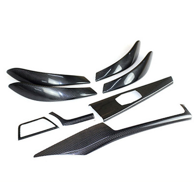 For 2012+ BMW 3 4Series F30 F36 High Configura Carbon Fiber Interior Trim 8PCS