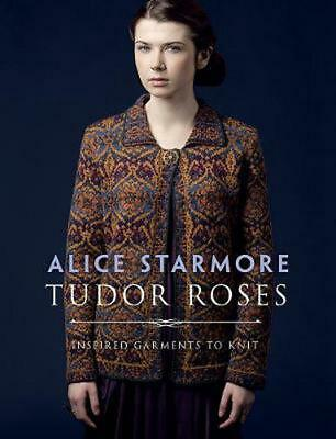 Tudor Roses by Alice Starmore Paperback Book Free Shipping!