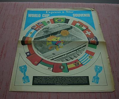 World Cup 1966 Express And Star Souvenir