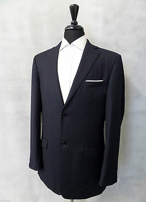 Giacca uomo Men's Navy Ben Sherman Suit Jacket Blazer 40L