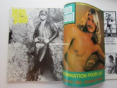 Jean Paul French Beefcake Muscle Magazine Trio Volume Gay Interest 1979