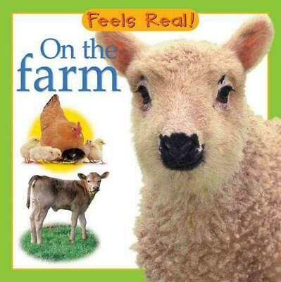 On the Farm by Barrons (English) Board Books Book Free Shipping!