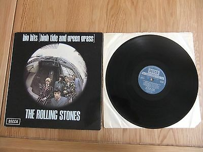 The Rolling Stones, Big Hits High Tide & Green Grass Vinyl Album, VG/VG.