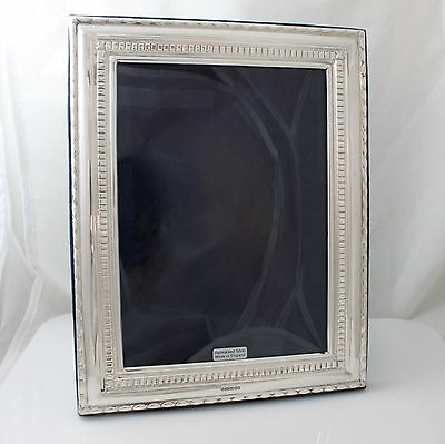 Unused Modern Solid Sterling Silver Photo Frame Hallmarked 2015 9""