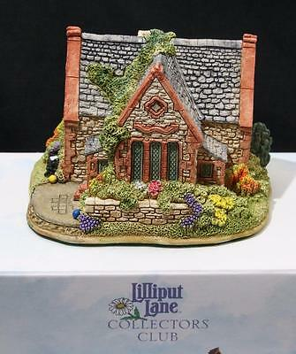 Beautiful Lilliput Lane Cottage - Arithmetic at the Old School House Box & Deeds