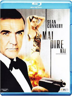 Never Say Never Again 007 Sean Connery IMPORT Blu-Ray NEW - USA Compatible
