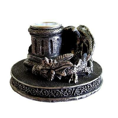 Dragon Cone Incense Burner/Candleholder