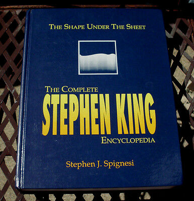 1991 The Complete Stephen King Encyclopedia The Shape Under The Sheet 780 Pages