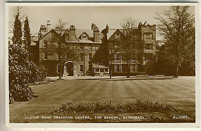 A Valentine's Real Photo Post Card of Lloyds Bank Training Centre, Hindhead