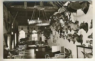 A Real Photo Post Card of Hodnet Hall. The Tea Rooms. Shropshire