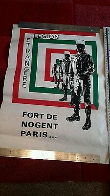 FRENCH FOREIGN LEGION  Copy Of original recruitment poster