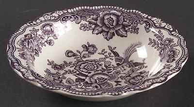 Crown Ducal BRISTOL MULBERRY Rimmed Fruit Dessert (Sauce) Bowl 91617