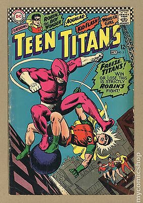 Teen Titans (1966 1st Series) #5 VG- 3.5