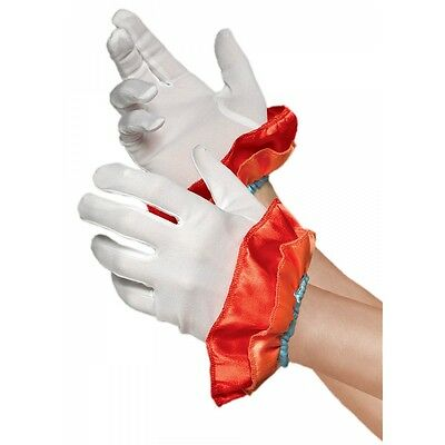 Clown Gloves Costume Accessory Adult Halloween