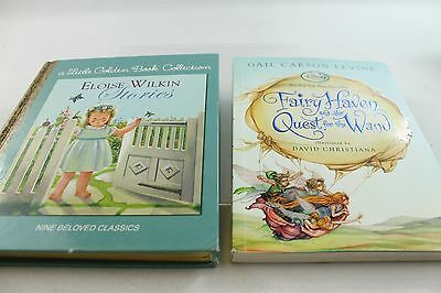 "Lot of 2 Excellent Books - Eloise Wilkin Collection & Disney ""Fairy Haven"""