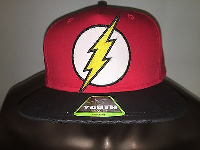 THE FLASH Justice LEAGUE movie COMIC NEW movie BOYS Youth OSFM Snapback HAT Cap