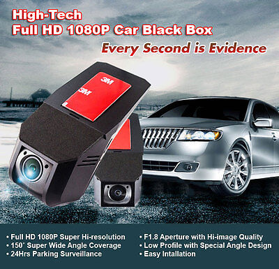 NEW Full-HD Car DVR - 1080P Car Black Box/Motion Detection/G-Sensor/Parking Mode