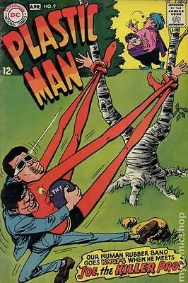 Plastic Man (1966 1st Series DC) #9 VG- 3.5 LOW GRADE