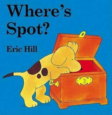 NEW Where's Spot? By Eric Hill Board Book Free Shipping