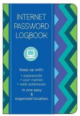 NEW Internet Password Logbook By Race Point Publishing Hardcover Free Shipping