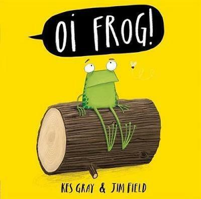 NEW Oi Frog By Kes Gray Board Book Free Shipping