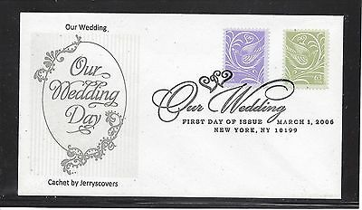 Our Wedding Fdc 2006 New York, Ny Only One Made