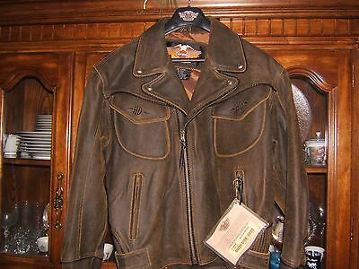 Harley Davidson Billings Leather Jacket Bnwt X-Large