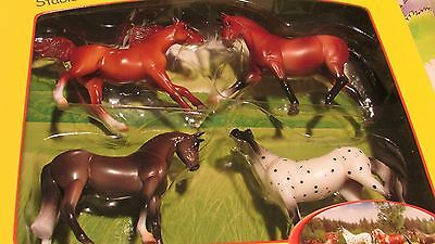 Breyer #6021 4 Horse Stablemate Super Sporty Horses NEW 2015 NIB! FREE SHIPPING!