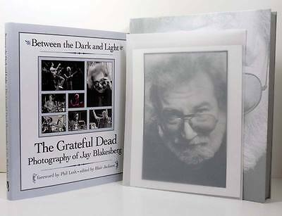 GRATEFUL DEAD Photographs Jay Blakesberg SIGNED Book Slipcase Jerry Garcia Music