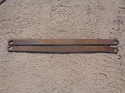Ford Tractor 8N 3PT Stabilizer Bars (2)  One Stamped W/Number