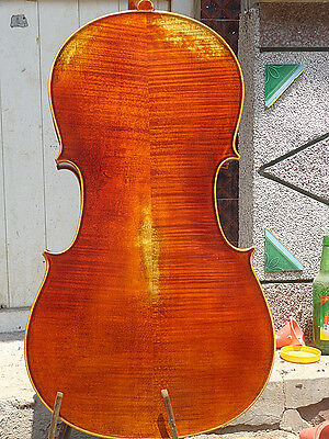 7/8 size Cello full Hand made antique old style cello very nice sound