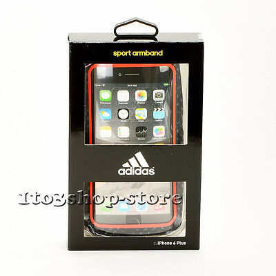 Adidas Sport Active Armband Case for iPhone 7 Plus & iPhone 6s Plus (Red/Black)